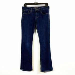 Express Women's Low-rise Barely Boot Cut Jeans 4s